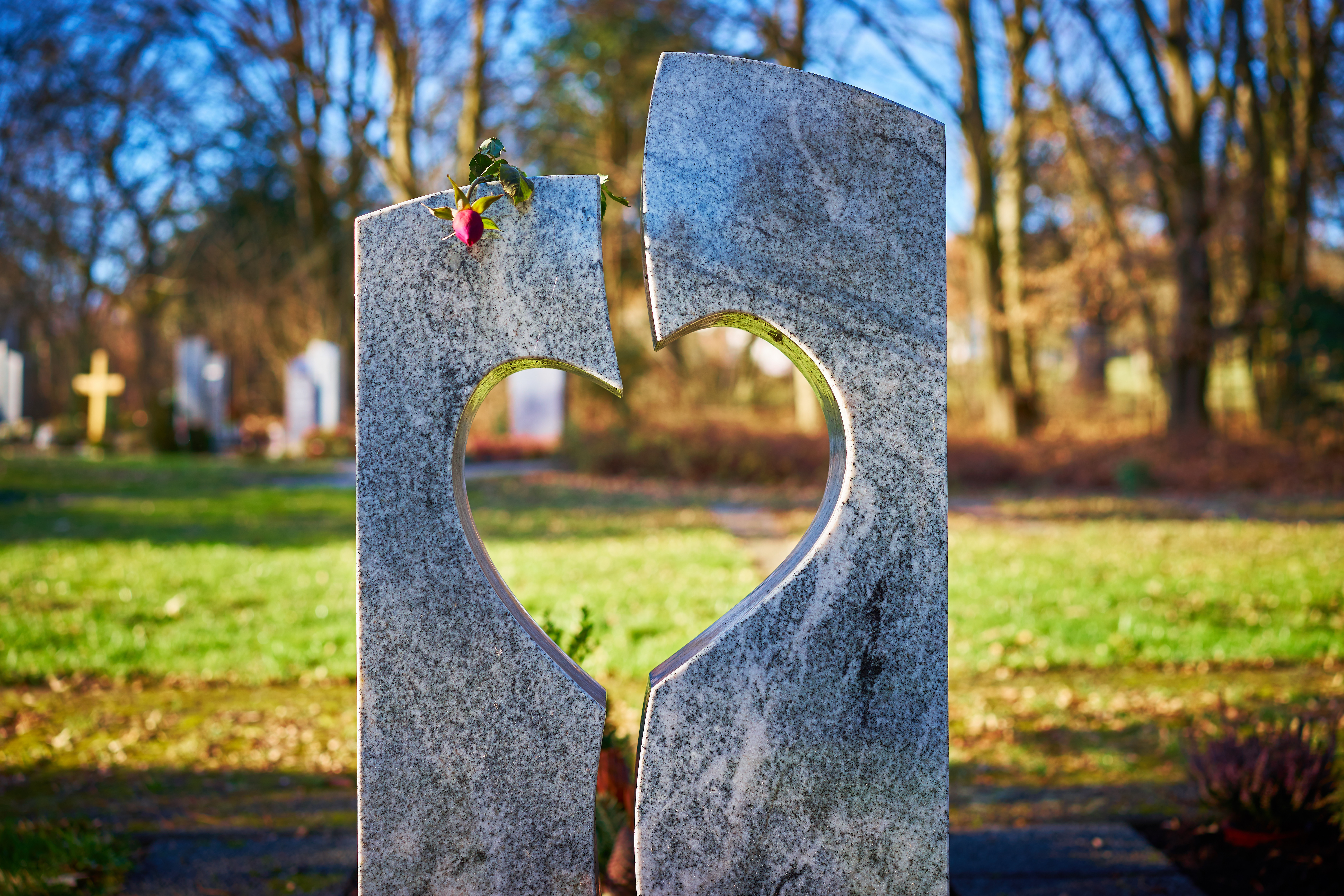 Gedenkteken / urnen